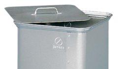 Алюминиевая крышка для контейнера для отходов Zarges 40757