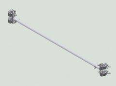 Базовые связи для вышек с консолями Zarges Z600 42888