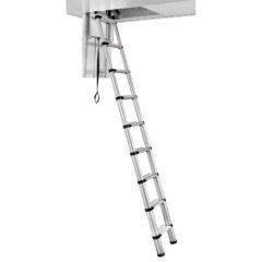 Чердачная лестница 10 ступеней TELESTEPS (2.52-3.0 м) 60927