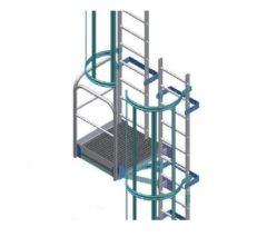 Детали и комплектующие для настенных лестниц