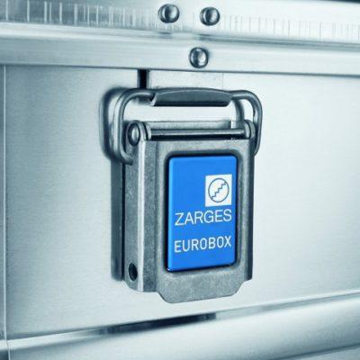 Евро-бокс Zarges с ручкой на крышке 40700