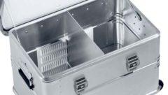 Комплект регулируемой алюминиевой перегородки Zarges 40866