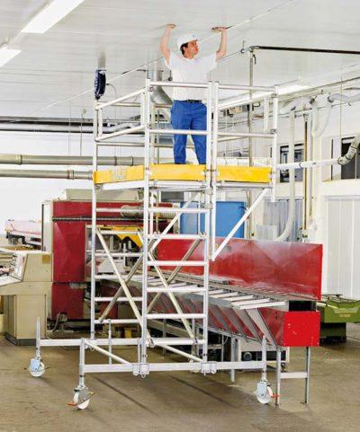 Консольная площадка 0.75х3.00 м для увеличения рабочей площадки на передвижных вышках Zarges Z600 51992