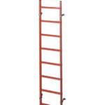 Лестница для колодцев Zarges из пластика (GFK) 1.4 м 47362
