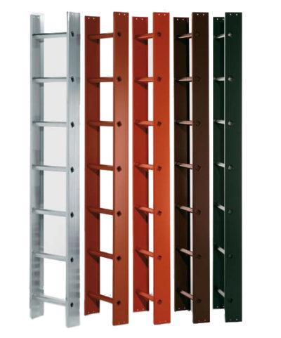 Лестница для работы на крыше 2.8 м алюминиевый Z300 Zarges 40396