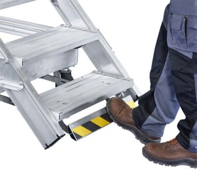 Лестница-платформа, мобильная с Ergo Stop Z600, 17 ступеней 40255086