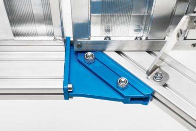 Лестница-подмости из легкого металла, передвижная с 5 ступенями Z600 40255764