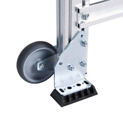 Лестничная площадка из легкого метала, 4 ступени Z600 40855526
