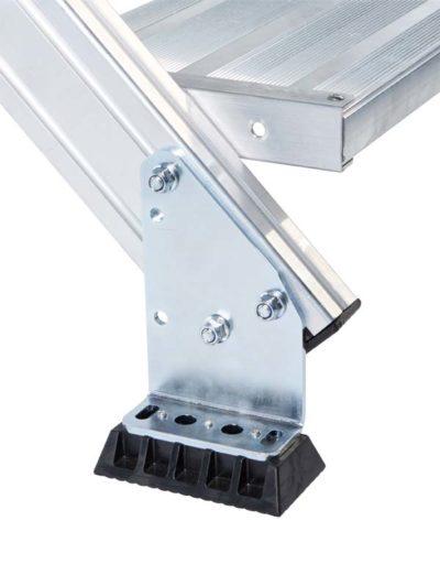 Лестничная площадка из легкого метала, 4 ступени Z600 40855542