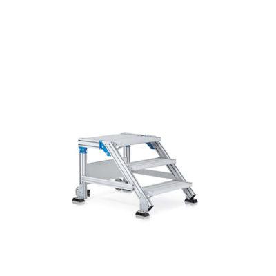 Лестничная площадка из легкого метала, 5 ступеней Z600 40855523