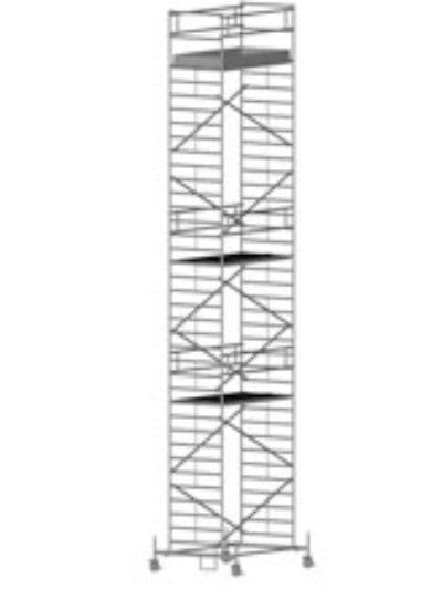Передвижная вышка с широкой площадкой Zarges Z600 51504