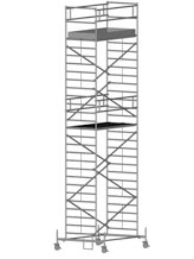Передвижная вышка с широкой площадкой Zarges Z600 51574