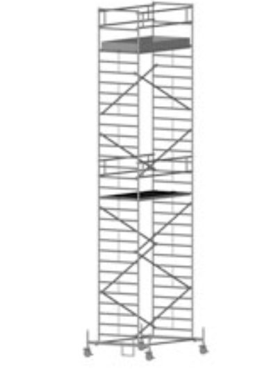Передвижная вышка с широкой площадкой Zarges Z600 51584