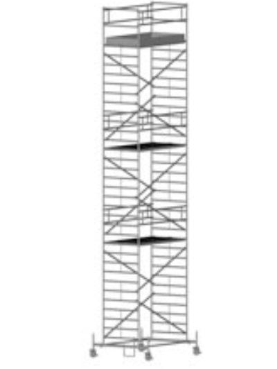 Передвижная вышка с широкой площадкой Zarges Z600 51594