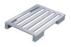 Плоский алюминиевый поддон Zarges на широких ножках 45175