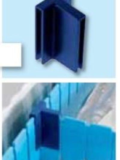 Продольный разделитель ABS для модульных корзин Zarges 46027