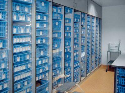 Продольный разделитель PC для модульных корзин Zarges 46042
