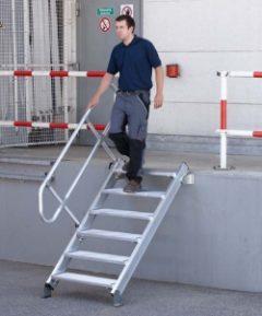 Промышленные лестницы с перилами