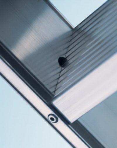 Стремянка со ступенями Seventec 302 2x10 Z500 Zarges 40360