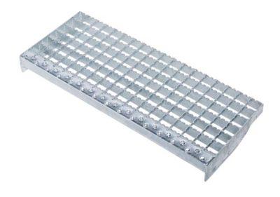 Ступени с платформой и перилами, 15 ступеней Z600 40155454