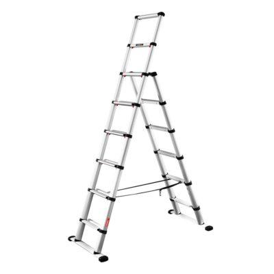 Телескопическая лестница-стремянка TELESTEPS 2х8 ступеней 3,0 m 60630