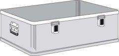 Ящик Zarges K 470 Plus бак с крышкой нижняя секция 40504