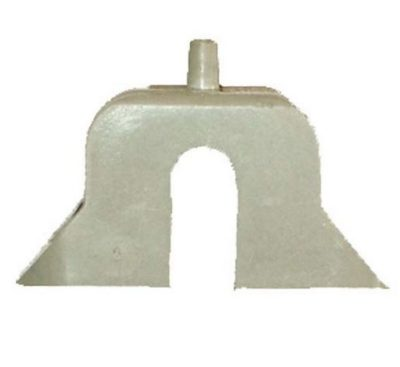 Заглушка Zarges для телескопических лестниц без прорези/лючка 800134