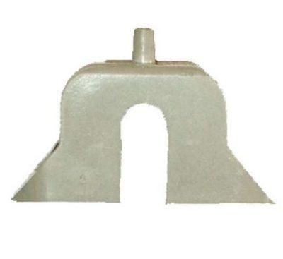 Заглушка Zarges для телескопических лестниц с прорезью/лючком 800133