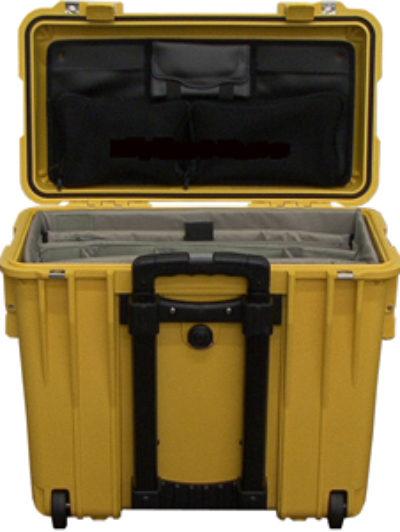 Жесткий кейс Zarges Peli Case 46722 с делителем