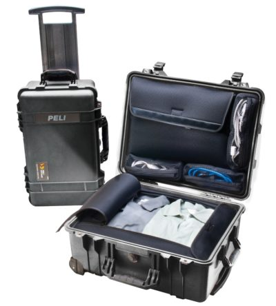 Жесткий кейс Zarges Peli Case 46982 с делителем