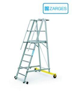Передвижные складные лестницы и лестницы с платформой